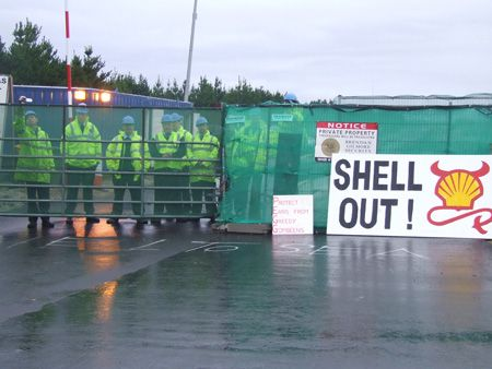 Private security, Shell's second line of defence after the Garda