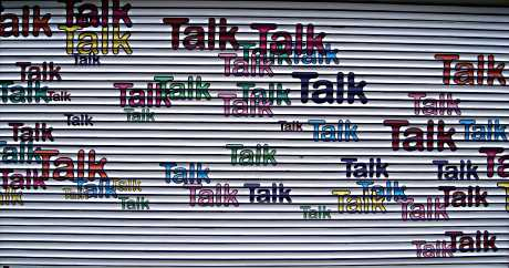 """Talk Talk"" joining in on the fun!"