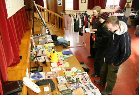 Free Shop at the Dublin Anarchist Book Fair in March 2006