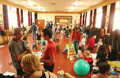 75 people turned up to that children's day at Nicholas of Myra