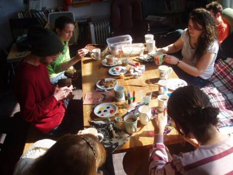 Cuppocrafts organise regular arts/crafts workshops