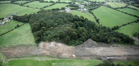 Rathlugh- the update from the air. How will the NRA build a road on the slope of a gravelly eske without causing further damage?