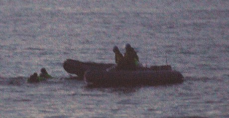 Gardaí sandwich S2S activists between ribs - 4. Gardaí have seized S2S boat crew.