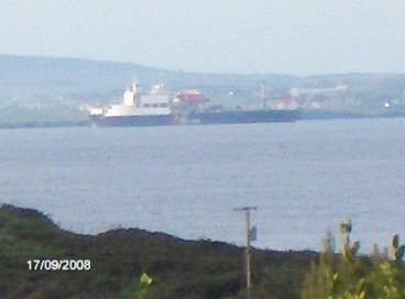 From across Donegal Bay. (apologies about the quality)