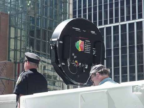The American Portable Version, LRAD - Long Range Acoustic Device