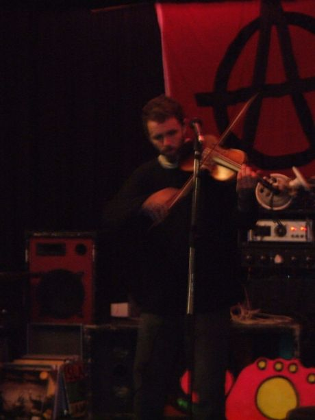 john on the fiddle