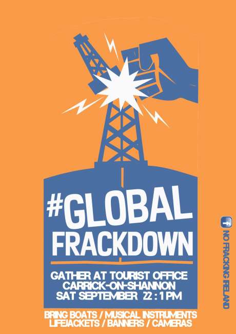 #Global FrackDown - Carrick-on-Shannon, Co.Leitrim