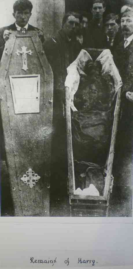 Body of Harry Loughnane after torture by members of the RIC