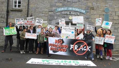 No Fracking Ireland and Young Friends of the Earth